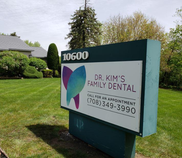 Dentist Monument Sign