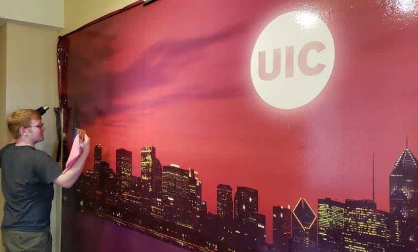 UIC Wall Mural