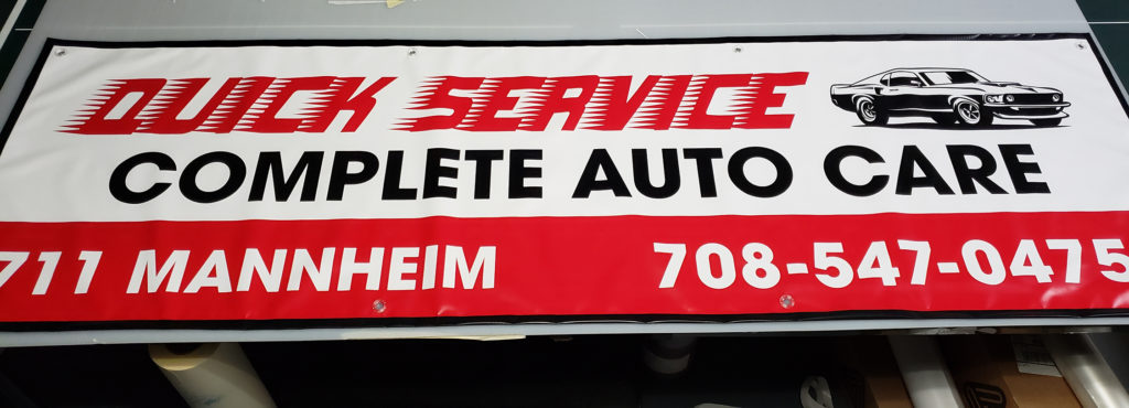Banner for Quick Service Auto Care