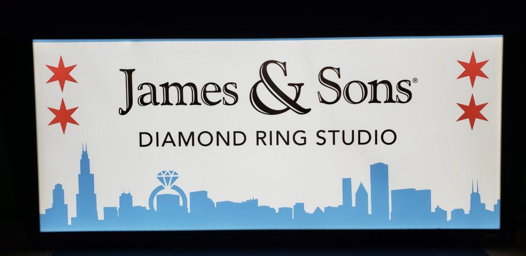 Radio Studio Sign 41.889885, -87.620937